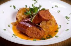 Azorian roasted chourico sausage and potatoes is a simple, hearty and delicious…