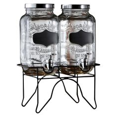 American Atelier Chalkboard Beverage Dispenser with Stand Set of 2☆☆☆Target