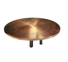 Ado Chale - 'Goutte d'Eau' Circular Table by Ado Chale