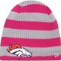 New Era Denver Broncos Ladies Breast Cancer Awareness Knit d3bf6a64e