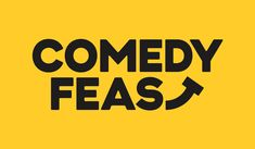 New Logo and Identity for Comedy Feast by Only