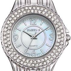 Women's Elgin II Watch. Silvertone with date display. Bracelet. Regularly $90.00, buy Avon Jewelry online at http://eseagren.avonrepresentative.com