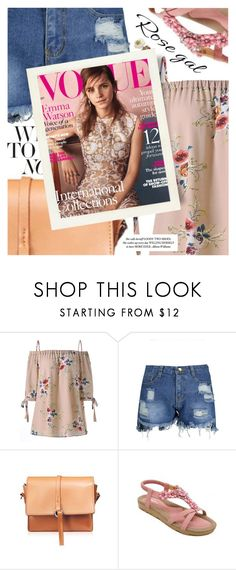 """""""Floral for Summer featuring rosegal.com"""" by cultofsharon ❤ liked on Polyvore featuring Emma Watson"""