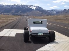 On the runway at the airport in Creede, CO