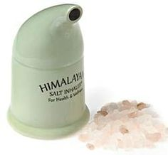 Himalayan Salt Inhaler - Salt for Wellness in Spring 2013 B from Isabella on shop.CatalogSpree.com, my personal digital mall.