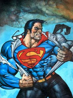 Superman by Simon Bisley