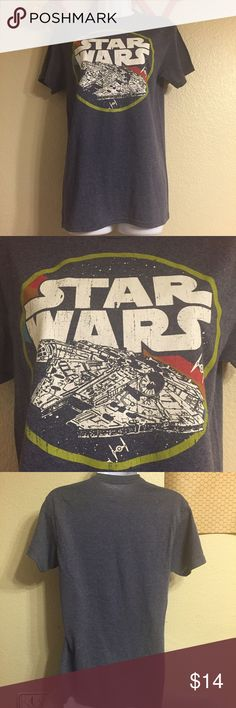 NWOT Star Wars tee NWOT vintage style Star Wars graphic tee. Size small men's, would fit a women's relaxed medium. Great pop culture piece! In perfect condition. Star Wars Tops Tees - Short Sleeve
