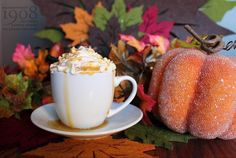 Our new Pumpkin Pie Espresso Con Panna is a tiny slice of heaven!    #pumpkinpie #pumpkinspice #pumpkineverything #autumn #fall #coffee #espresso #conpanna #whippedcream #pumpkinpielatte #torani #camrose #mainstreet1908