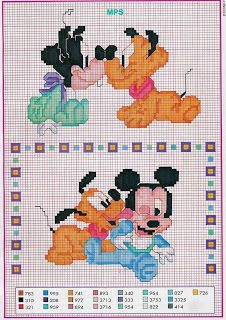 Sandrinha Cross Stitch: Disney Baby!