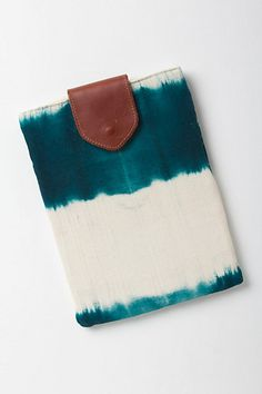 Anthropologie Dip-Dye iPad Case  Benefits: Mercado Global  #fairtrade #charity #nonprofit
