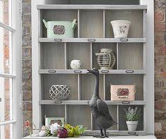 Rustic Potting Shed Storage Cabinet
