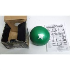 "Wate Ball Green 2KG / 4.4 lbs Hand Held 5"" Exercise Ball. Genuine Wate Product"