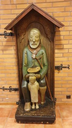 Ukko nro 146 Nurmijärven seurakuntakeskuksessa 10.10.2019. Wooden Statues, Lutheran, Finland, Carving, Art, Art Background, Wood Carvings, Kunst, Sculpting
