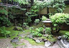 Japanese Garden at Hiiragiya Ryokan in Kyoto