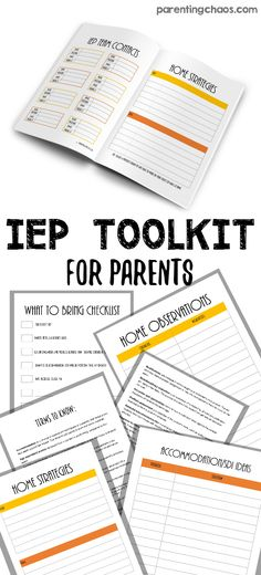 How To Write the Best-Ever Parent Concerns Letter for your IEP (incl - copy sample letter requesting meeting room