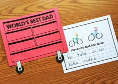 Father's Day Toolbox Book from Simply Kinder Kindergarten Teachers, Kindergarten Activities, Preschool Learning, Kid Activities, Fathers Day Questionnaire, Fathers Day Frames, Teaching Calendar, Worlds Best Dad, Picture Writing Prompts