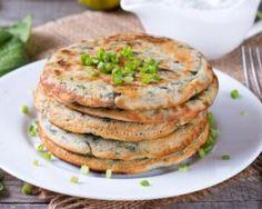 Pancakes salés express aux épinards