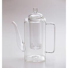 glass square teapot|borosilicate glass teapot|Bitossi| Abitatt