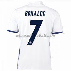 Neues Real Madrid 2016-17 Fussball Trikot Ronaldo 7 Kurzarm Heimtrikot Shop