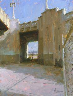 BoldBrush Painting Competition Winner - January 2010   'Urban Passage' by Jennifer McChristian
