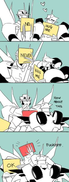 Tumblr #Starscream #Knockout
