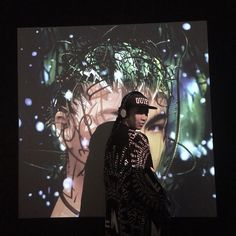 One of LMT founders at Bjork exhibition, MOMA, Nyc wearing Rhea Kimono. ⚡️Rhea Kimono will be available by this week⚡️ Moma Nyc, Bjork, Kimono, Urban, Instagram Posts, Art, Art Background, Kunst, Performing Arts