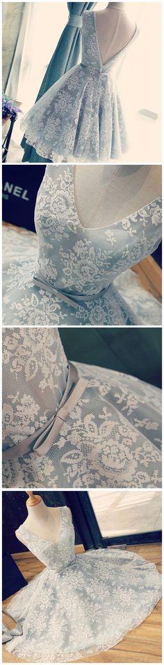 2017 Homecoming Dress Sexy V-neck Bowknot Short Prom Dress Party Dress JK059