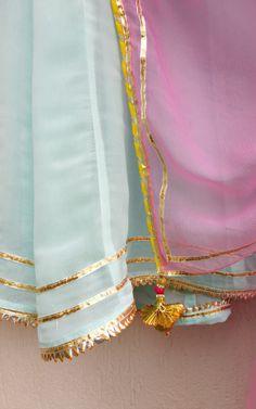 Fabric : Georgette Lining : Shantun Dupatta : Chiffon Choli Designs, Blouse Designs, Farewell Sarees, Kurti Styles, Ethinic Wear, Eastern Dresses, Lace Saree, Rajputi Dress, Frock Fashion