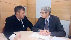 Poco fa (parte 2), negli Studi Mediaset del Palatino, dopo intervista a direttore Tg4 Mario Giordano