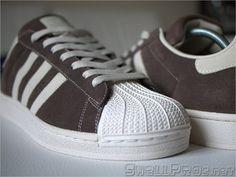 Adidas Superstar II Brown Suede / Chalk – #096985