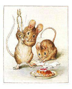 Os dois ratinhos maus descobrem que foram enganados pela comida, com bom aspecto mas sem valor alimentar... | #Beatrix Potter