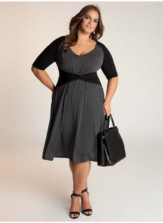Kinsley Plus Size Dress - Work Wear Collection by IGIGI