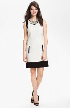 Short Embellished Shift Dress