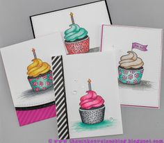 The Pink Envelope: Avery Elle Cupcakes + Colored Wink of Stella