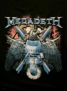 Megadeth Pôster em tecido