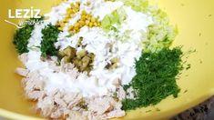 Lezzetli Tavuk Salatası - Leziz Yemeklerim