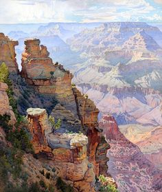 Yaki Point, Grand Canyon     Gunnar Widforss  (1879–1934)  prints by this artist