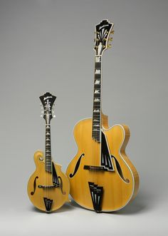 Archtop Guitar and Mandolin, Radio City models, 1995, 2004 JOHN MONTELEONE