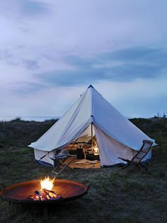 Pitch a tent!