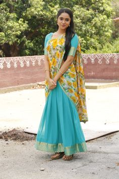 Beautiful Blonde Girl, Beautiful Girl Indian, Beautiful Saree, Beautiful Indian Actress, Chennai, Half Saree Designs, Salwar Designs, Half Saree Lehenga, Indian Girl Bikini