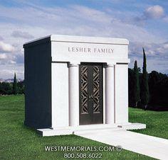 Lesher Mausoleum Designs by West Memorials 2017 Design, Design Development, Beautiful Birds, Granite, This Is Us, Construction, Memories, Building, Places