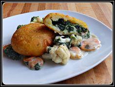 ...Soul Vood kocht & bloggt...: Gefüllte Kartoffellaibchen