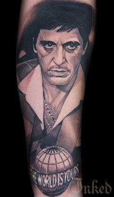 We take a look inside Robert Pho's portfolio chock full of amazing black and grey realism tattoos. Forarm Tattoos, Chicano Tattoos, Leg Tattoos, Body Art Tattoos, Movie Tattoos, Baby Tattoos, Tattoos For Guys, Forearm Sleeve Tattoos, Tattoo Sleeve Designs