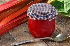 Čerstvý rebarborový džem