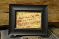 Grandma Quote Frame. $10.00, via Etsy.