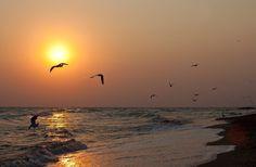 Рассвет на Азовском море - Путешествуем вместе