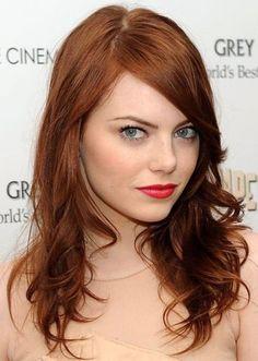 50 Best Auburn Hair Color Ideas | herinterest.com/