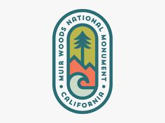 Muir Woods National Monument designed by Patrick Moriarty. Connect with them on Dribbble; the global community for designers and creative professionals. Badge Design, Logo Design, Graphic Design, River Logo, California Logo, Environment Logo, Muir Woods National Monument, Type Logo, Wood Logo
