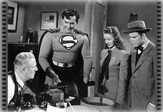 There's Superman and Lois Lane from the wonderful 50's TV show