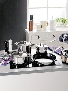 Hanki keittiöösi  laadukkaat suomalaiset Hackman All Steel -keitto- ja -paistoastiat, joilla ruoanlaitto sujuu kuin itsestään. https://www.hobbyhall.fi/web/store/koti-ja-sisustus?utm_medium=pin&utm_campaign=j6_2014&utm_source=pinterest&utm_content=syksyn_sisustussatoa_28.8.